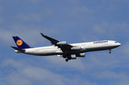 ★azusa★さんが、シンガポール・チャンギ国際空港で撮影したルフトハンザドイツ航空 A340-313Xの航空フォト(飛行機 写真・画像)