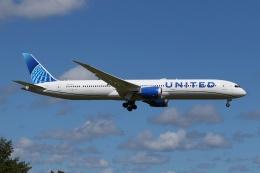 宮崎 育男さんが、成田国際空港で撮影したユナイテッド航空 787-10の航空フォト(飛行機 写真・画像)