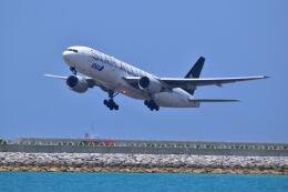 うめたろうさんが、那覇空港で撮影した全日空 777-281の航空フォト(飛行機 写真・画像)