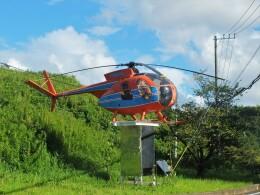 Smyth Newmanさんが、航空科学博物館で撮影した新日本ヘリコプター 369HSの航空フォト(飛行機 写真・画像)
