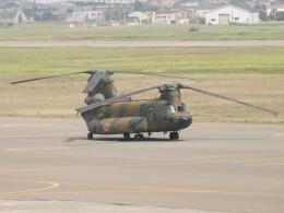 tetuさんが、札幌飛行場で撮影した陸上自衛隊 CH-47JAの航空フォト(飛行機 写真・画像)