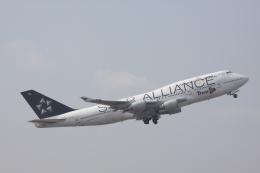 kahluamilkさんが、成田国際空港で撮影したタイ国際航空 747-4D7の航空フォト(飛行機 写真・画像)