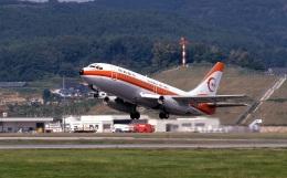 LEVEL789さんが、岡山空港で撮影した南西航空 737-2Q3/Advの航空フォト(飛行機 写真・画像)