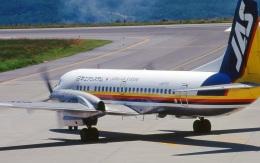 LEVEL789さんが、岡山空港で撮影した日本エアシステム YS-11A-500の航空フォト(飛行機 写真・画像)