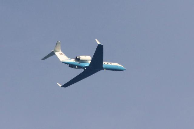 ぼくちゃんさんが、横田基地で撮影した連邦航空局 G-IVの航空フォト(飛行機 写真・画像)