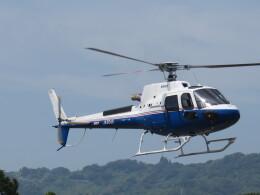 チダ.ニックさんが、静岡ヘリポートで撮影した昭和リース AS350B3 Ecureuilの航空フォト(飛行機 写真・画像)