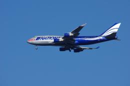 ぼくちゃんさんが、横田基地で撮影したナショナル・エア・カーゴ 747-428(BCF)の航空フォト(飛行機 写真・画像)