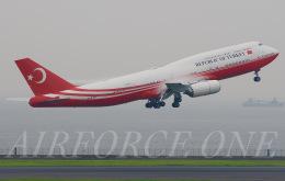 AIRFORCE ONEさんが、羽田空港で撮影したトルコ政府 747-8ZV(BBJ)の航空フォト(飛行機 写真・画像)
