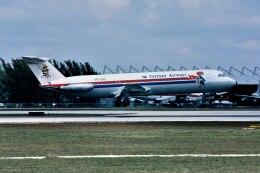 パール大山さんが、マイアミ国際空港で撮影したケイマン航空 111-523FJ One-Elevenの航空フォト(飛行機 写真・画像)