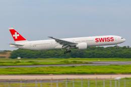 KAMIYA JASDFさんが、成田国際空港で撮影したスイスインターナショナルエアラインズ 777-3DE/ERの航空フォト(飛行機 写真・画像)