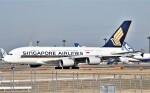 鉄バスさんが、成田国際空港で撮影したシンガポール航空 A380-841の航空フォト(飛行機 写真・画像)