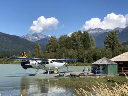 thomasYVRさんが、ウィスラー/グリーンレイク水上飛行場 - Green Lake Waterdrome [YWS/CAE5]で撮影したハーバー・エア・シープレーンズ DHC-3T Vazar Turbine Otterの航空フォト(飛行機 写真・画像)