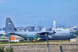 でこっぱち 15さんが、福岡空港で撮影したアメリカ空軍 C-130J-30 Herculesの航空フォト(飛行機 写真・画像)