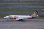 kumagorouさんが、羽田空港で撮影したスカイネットアジア航空 737-43Qの航空フォト(飛行機 写真・画像)