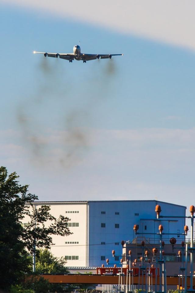 たーぼーさんが、横田基地で撮影したアメリカ空軍 E-8C J-Stars (707-300C)の航空フォト(飛行機 写真・画像)