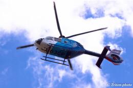 triton@blueさんが、名古屋飛行場で撮影した中日新聞社 EC135P2の航空フォト(飛行機 写真・画像)