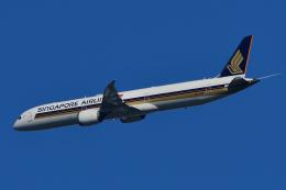 chinbariさんが、成田国際空港で撮影したシンガポール航空 787-10の航空フォト(飛行機 写真・画像)
