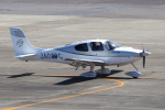 yabyanさんが、名古屋飛行場で撮影した日本個人所有 SR22 G3-GTSXの航空フォト(飛行機 写真・画像)