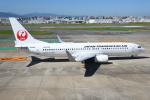 sky77さんが、福岡空港で撮影した日本トランスオーシャン航空 737-8Q3の航空フォト(飛行機 写真・画像)