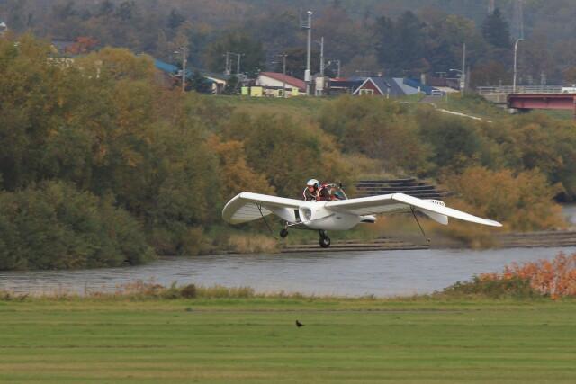 またぁりさんが、たきかわスカイパークで撮影したペットワークス OpenSky M-02Jの航空フォト(飛行機 写真・画像)