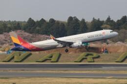 SIさんが、成田国際空港で撮影したアシアナ航空 A321-231の航空フォト(飛行機 写真・画像)