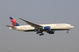 SIさんが、成田国際空港で撮影したデルタ航空 777-232/LRの航空フォト(飛行機 写真・画像)