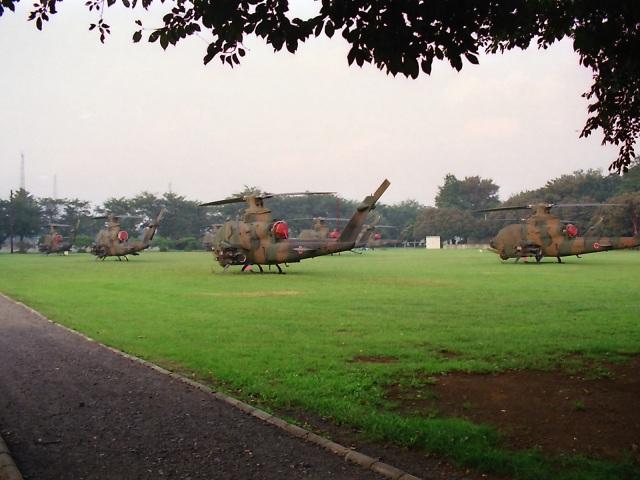 エルさんが、朝霞駐屯地で撮影した陸上自衛隊 AH-1Sの航空フォト(飛行機 写真・画像)