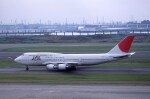 kumagorouさんが、羽田空港で撮影した日本航空 747-446Dの航空フォト(飛行機 写真・画像)