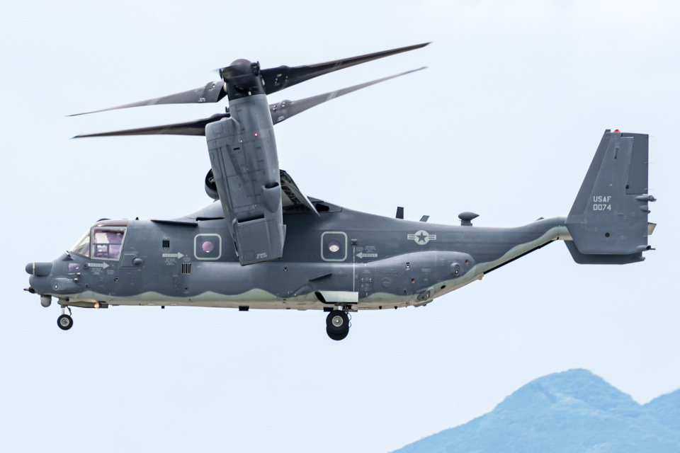 I.Kさんのアメリカ空軍 Bell Boeing V-22 Osprey (14-0074) 航空フォト