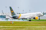 gomaさんが、ミュンヘン・フランツヨーゼフシュトラウス空港で撮影したコンドル 757-330の航空フォト(飛行機 写真・画像)