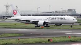 mich_stoneさんが、羽田空港で撮影した日本航空 777-346/ERの航空フォト(飛行機 写真・画像)