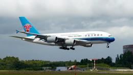 FlyingMonkeyさんが、成田国際空港で撮影した中国南方航空 A380-841の航空フォト(飛行機 写真・画像)
