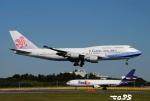 tassさんが、成田国際空港で撮影したチャイナエアライン 747-409の航空フォト(飛行機 写真・画像)
