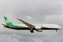 小牛田薫さんが、成田国際空港で撮影したエバー航空 787-9の航空フォト(飛行機 写真・画像)