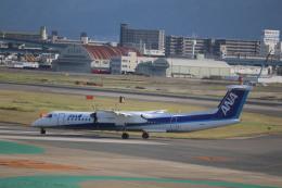 flyflygoさんが、福岡空港で撮影したANAウイングス DHC-8-402Q Dash 8の航空フォト(飛行機 写真・画像)
