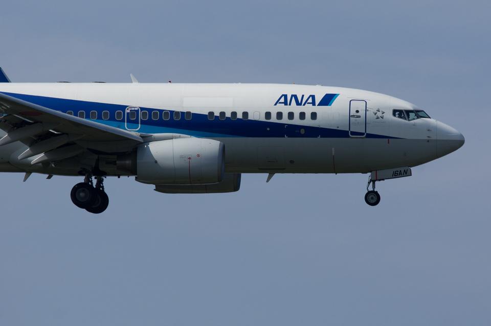 xxxxxzさんの全日空 Boeing 737-700 (JA16AN) 航空フォト