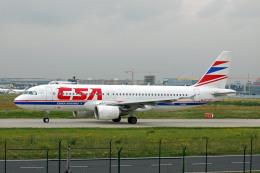 Gambardierさんが、フランクフルト国際空港で撮影したチェコ航空 A320-214の航空フォト(飛行機 写真・画像)