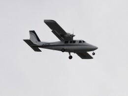 tetuさんが、札幌飛行場で撮影した学校法人ヒラタ学園 航空事業本部 P.68C-TC の航空フォト(飛行機 写真・画像)