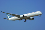 ちゃぽんさんが、成田国際空港で撮影したキャセイパシフィック航空 A350-1041の航空フォト(飛行機 写真・画像)