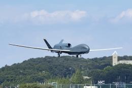 Mochi7D2さんが、横田基地で撮影したアメリカ空軍 RQ-4B-40 Global Hawkの航空フォト(飛行機 写真・画像)