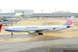 M.Tさんが、関西国際空港で撮影したチャイナエアライン A330-302の航空フォト(飛行機 写真・画像)