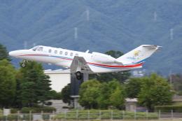 ゴンタさんが、松本空港で撮影した静岡エアコミュータ 525A Citation CJ2+の航空フォト(飛行機 写真・画像)