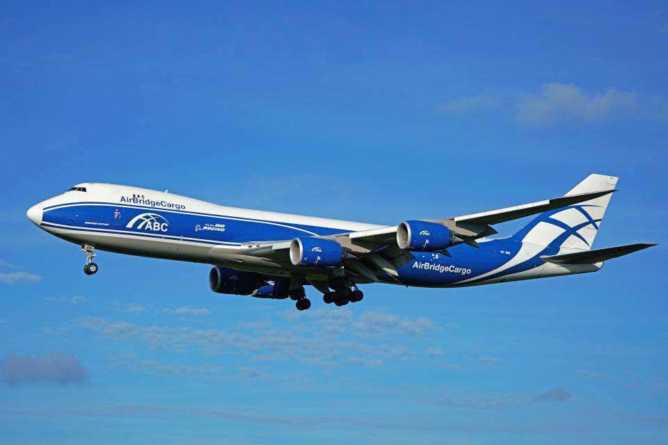 ちゃぽんさんのエアブリッジ・カーゴ・エアラインズ Boeing 747-8 (VP-BIN) 航空フォト