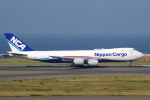 yabyanさんが、中部国際空港で撮影した日本貨物航空 747-8KZF/SCDの航空フォト(飛行機 写真・画像)