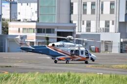 ヘリオスさんが、東京ヘリポートで撮影した静岡県消防防災航空隊 AW139の航空フォト(飛行機 写真・画像)