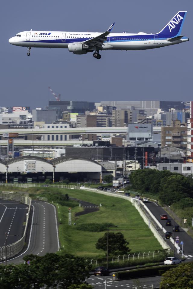 K.Sさんが、福岡空港で撮影した全日空 A321-211の航空フォト(飛行機 写真・画像)