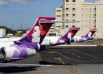 voyagerさんが、ダニエル・K・イノウエ国際空港で撮影したハワイアン航空 717-2BLの航空フォト(飛行機 写真・画像)