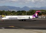 voyagerさんが、ダニエル・K・イノウエ国際空港で撮影したハワイアン航空 717-22Aの航空フォト(飛行機 写真・画像)