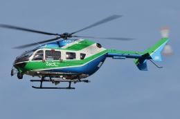 ブルーさんさんが、名古屋飛行場で撮影した兵庫県消防防災航空隊 BK117C-2の航空フォト(飛行機 写真・画像)