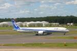 乗り物大好きライター・ヨッシーさんが、成田国際空港で撮影した全日空 787-10の航空フォト(飛行機 写真・画像)